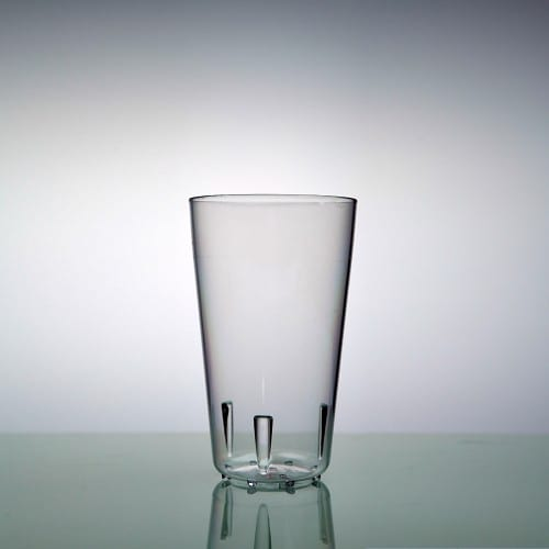 Bier en frisglas Pop PC 25 cl (huur)