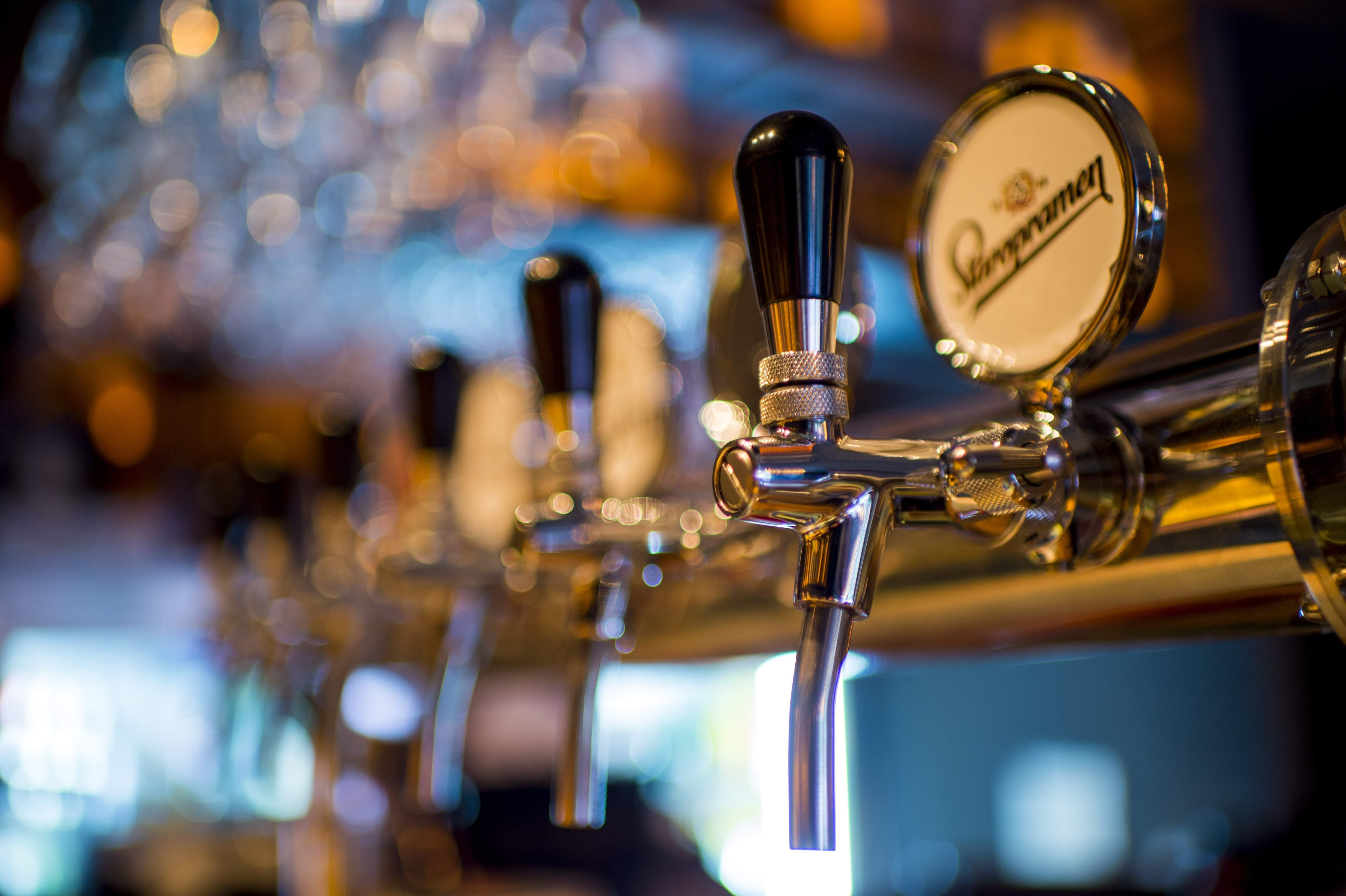 Special beers on tap